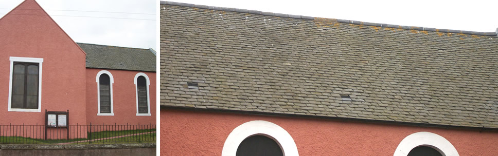 Border Roofing Church Repair