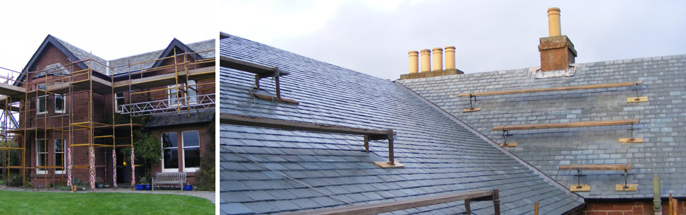 Border Roofing - Retaining the character of an old home